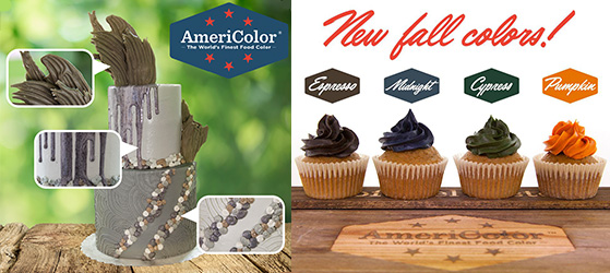 New Americolor Icing Colours