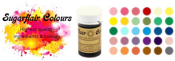 Sugarflair Colours