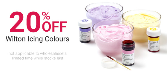 20% Off Wilton Icing Colours