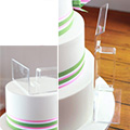Professional Acrylic Right Angle Fondant Cake Smoother