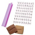 Alphabet & Numbers Message Press Embosser Set