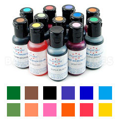 Amerimist Airbrush Food Colour Kit