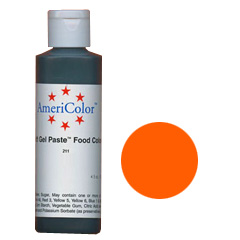AmeriColor Soft Gel Paste Orange 4.5oz