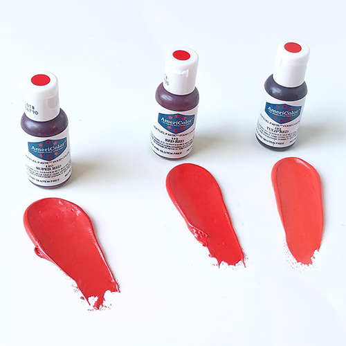 Americolor Soft Gel Paste Red Red 75oz