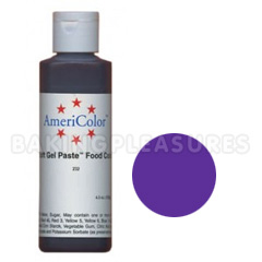 AmeriColor Soft Gel Paste Regal Purple 4.5oz
