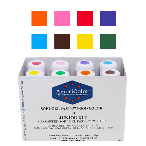 AmeriColor Soft Gel Paste Junior Kit