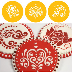 football cookie cutter template - amore cookie stencil