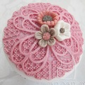 Katy Sue Anastasia Lace Cupcake Mould