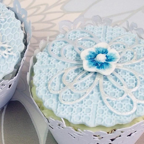 Katy Sue Anastasia Lace Cupcake Mould