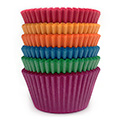 Assorted Colours Nordic Paper Baking Cups (#550) 240pcs