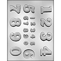Assorted Numbers Chocolate Mould