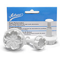 Ateco Gerbera Daisy Sugar Paste Cutters 3pcs