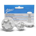 Ateco Lily Sugar Paste Cutters 3pcs
