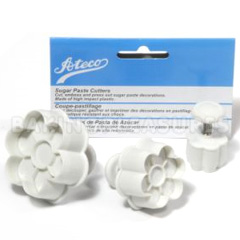 Ateco Six Petal Sugar Paste Cutters