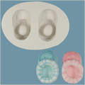 FPC Sugarcraft Baby Booties Silicone Mould