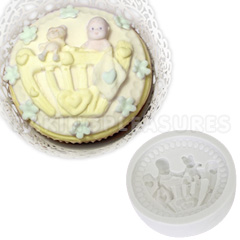 wedding cakes with cupcakes pictures katy sue baby cot cupcake mould 26013