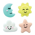 Baby Dream Edible Cupcake Toppers 12pcs