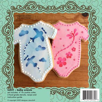 Baby Onesie Cookie Cutter U0026 Stencil Set