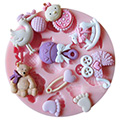 Baby Shower Silicone Mould