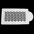 Bake Stencil Chevron Side Stencil
