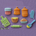 Alphabet Moulds Baking Silicone Mould