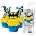 Batman Edible Wafer Cupcake Toppers 16pcs