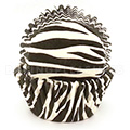 Black Zebra Baking Cups 240pcs