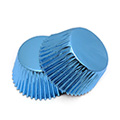 Blue Foil Mini Baking Cups 240pcs
