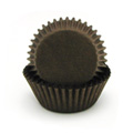BULK Brown Grease Proof Mini Baking Cups 500pcs
