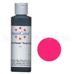 Bulk AmeriColor Soft Gel Paste Electric Pink 4.5oz