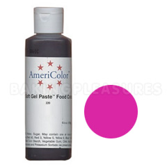 Bulk AmeriColor Soft Gel Paste Fuchsia 4.5oz
