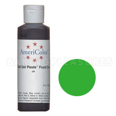 Bulk AmeriColor Soft Gel Paste Mint Green 4.5oz