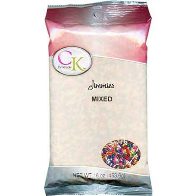 BULK CK Jimmies Mixed Sprinkles 453g