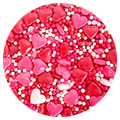 BULK Sprinkd Heart Mix Sprinkles 1kg