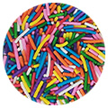 BULK Sprinkd Rainbow Jimmies Sprinkles 1kg