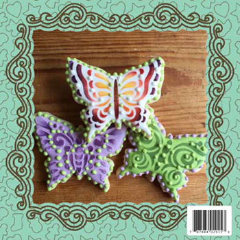 Butterfly Cookie Cutter & Stencil Set