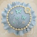 Katy Sue Butterfly Meadow Cupcake Mould