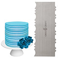 Cake Craft Buttercream Comb Colonial Scraper 10 Inch