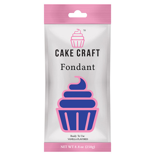 Cake Craft Fondant Royal Blue 250g