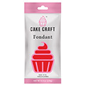 Cake Craft Fondant Ruby Red 250g
