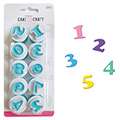 Cake Craft Mini Number Plunger Cutters
