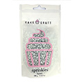 Cake Craft Silver Sequins Edible Sprinkles 100g