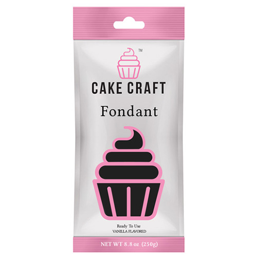 Cake Craft Fondant Voodoo Black 250g