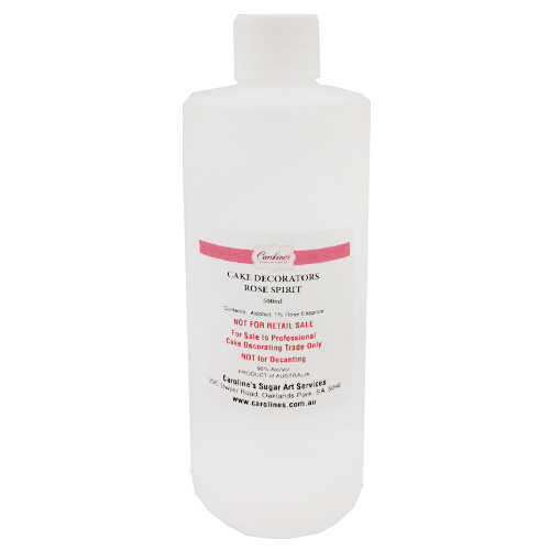Cake Decorators Rose Spirit (Alcohol) 500ml