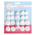 Cake Star Hand & Footprint Stamper Set 18pcs