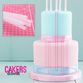 Cakers Opaque Cake Dowels 30cm 10pcs