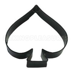 Card Spade Black Cookie Cutter