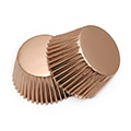 Champagne Foil Mini Baking Cups (#360) 240pcs
