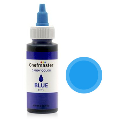 Chefmaster Blue Oil Based Candy Colour