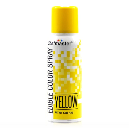Chefmaster Edible Food Spray Yellow 42g